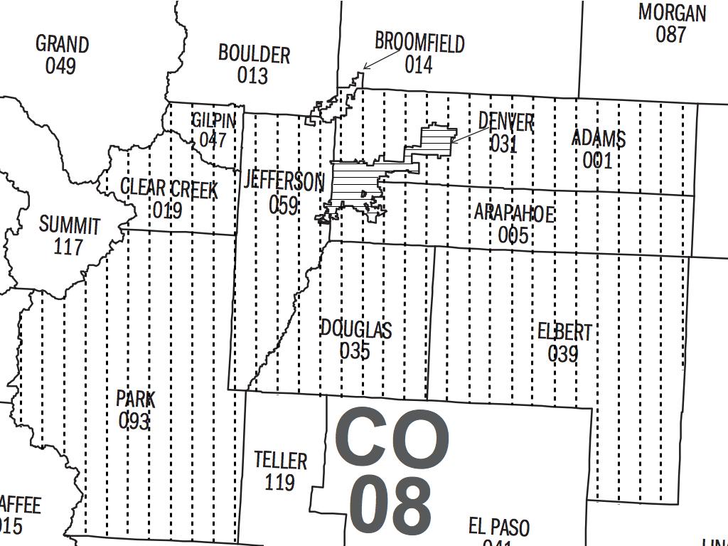 Denver Metro Map City Boundaries.Is Detroit Denser Than Denver Marron Institute