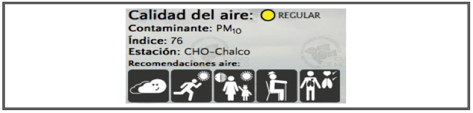 Mexico City Air Quality Information[Footnote 8]