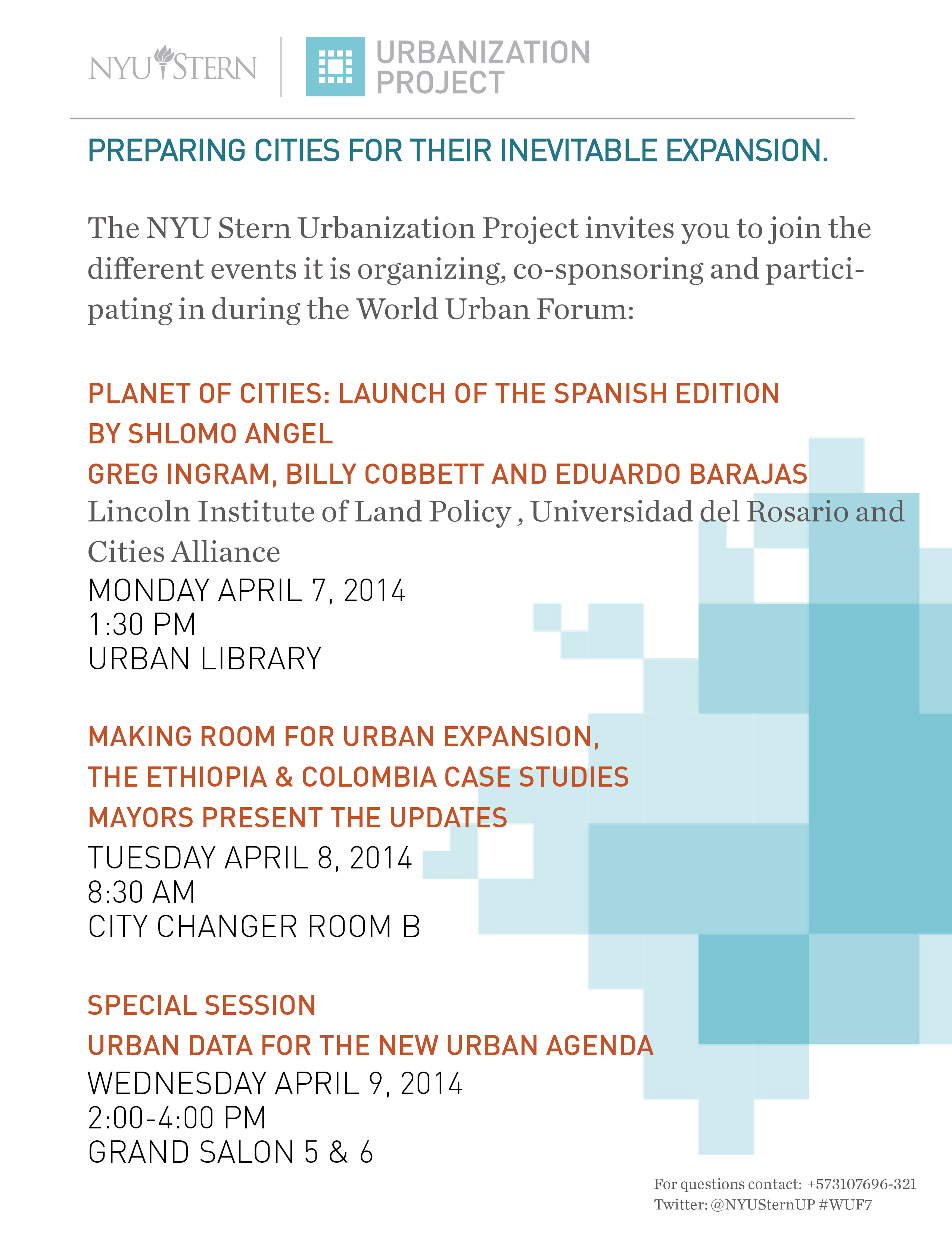 The Urbanization Project At The World Urban Forum In