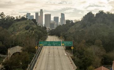 LA Freeway COVID